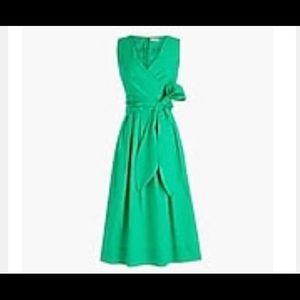 J. Crew. Wrap dress